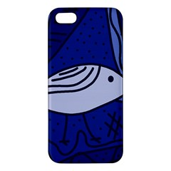 Blue bird Apple iPhone 5 Premium Hardshell Case