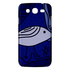 Blue bird Samsung Galaxy Mega 5.8 I9152 Hardshell Case