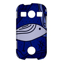 Blue bird Samsung Galaxy S7710 Xcover 2 Hardshell Case