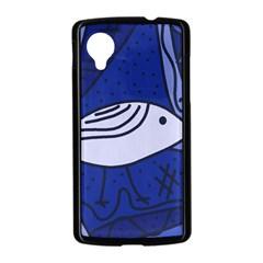 Blue bird Nexus 5 Case (Black)
