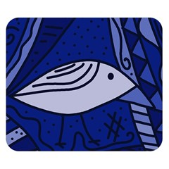 Blue bird Double Sided Flano Blanket (Small)