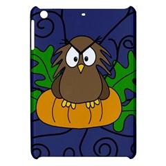 Halloween owl and pumpkin Apple iPad Mini Hardshell Case