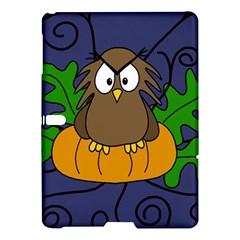 Halloween owl and pumpkin Samsung Galaxy Tab S (10.5 ) Hardshell Case