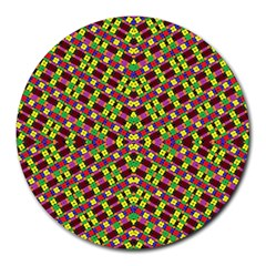 Planet Light Round Mousepads