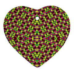 Planet Light Heart Ornament (2 Sides)