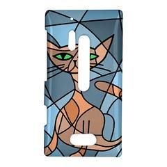 Artistic  cat - orange Nokia Lumia 928