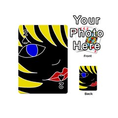 Blond girl Playing Cards 54 (Mini)