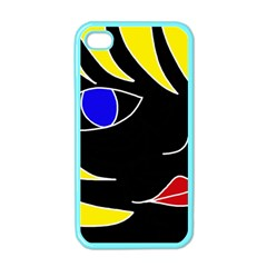 Blond girl Apple iPhone 4 Case (Color)