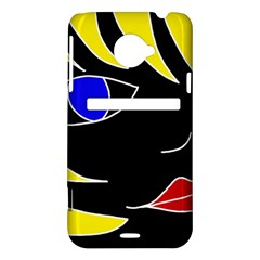 Blond girl HTC Evo 4G LTE Hardshell Case