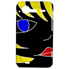 Blond girl HTC Incredible S Hardshell Case