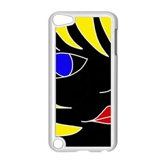 Blond girl Apple iPod Touch 5 Case (White)