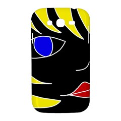 Blond girl Samsung Galaxy Grand DUOS I9082 Hardshell Case