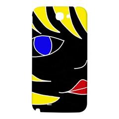 Blond girl Samsung Note 2 N7100 Hardshell Back Case