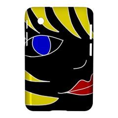Blond girl Samsung Galaxy Tab 2 (7 ) P3100 Hardshell Case