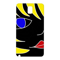 Blond girl Samsung Galaxy Note 3 N9005 Hardshell Back Case