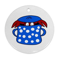 Cooking lobster Ornament (Round)