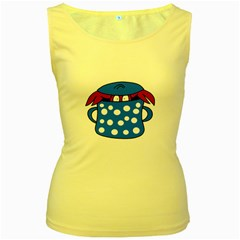 Cooking lobster Women s Yellow Tank Top