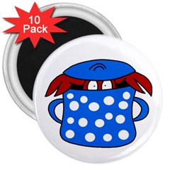 Cooking lobster 3  Magnets (10 pack)