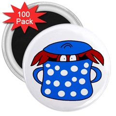 Cooking lobster 3  Magnets (100 pack)