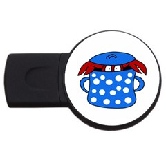 Cooking lobster USB Flash Drive Round (1 GB)