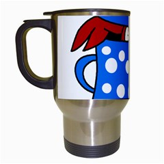 Cooking lobster Travel Mugs (White)