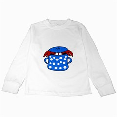Cooking lobster Kids Long Sleeve T-Shirts
