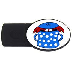 Cooking lobster USB Flash Drive Oval (4 GB)