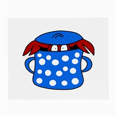 Cooking lobster Small Glasses Cloth (2-Side)