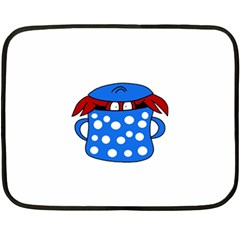 Cooking lobster Double Sided Fleece Blanket (Mini)