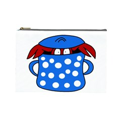Cooking lobster Cosmetic Bag (Large)