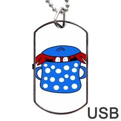 Cooking lobster Dog Tag USB Flash (Two Sides)
