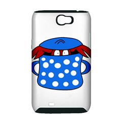 Cooking lobster Samsung Galaxy Note 2 Hardshell Case (PC+Silicone)