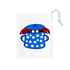 Cooking lobster Drawstring Pouches (Medium)
