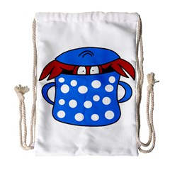 Cooking lobster Drawstring Bag (Large)