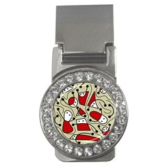 Playful abstraction Money Clips (CZ)