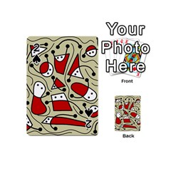 Playful abstraction Playing Cards 54 (Mini)