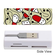 Playful abstraction Memory Card Reader (Stick)