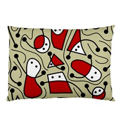 Playful abstraction Pillow Case (Two Sides)