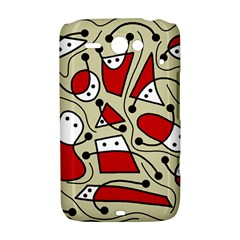 Playful abstraction HTC ChaCha / HTC Status Hardshell Case