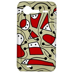 Playful abstraction HTC Incredible S Hardshell Case