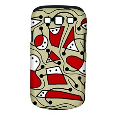 Playful abstraction Samsung Galaxy S III Classic Hardshell Case (PC+Silicone)