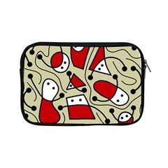 Playful abstraction Apple iPad Mini Zipper Cases