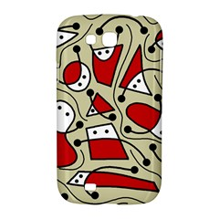 Playful abstraction Samsung Galaxy Grand GT-I9128 Hardshell Case