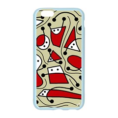 Playful abstraction Apple Seamless iPhone 6/6S Case (Color)