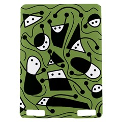Playful abstract art - green Kindle Touch 3G