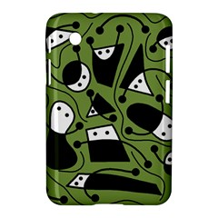 Playful abstract art - green Samsung Galaxy Tab 2 (7 ) P3100 Hardshell Case