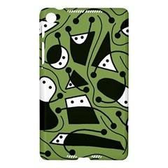 Playful abstract art - green Nexus 7 (2013)
