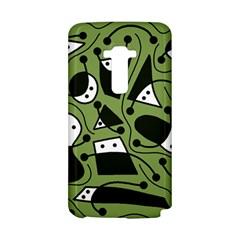 Playful abstract art - green LG G Flex