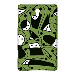 Playful abstract art - green Samsung Galaxy Tab S (8.4 ) Hardshell Case