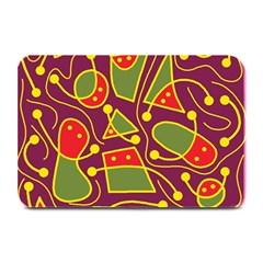 Playful decorative abstract art Plate Mats